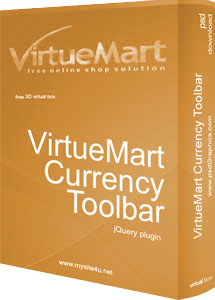 VirtueMart Currency Toolbar